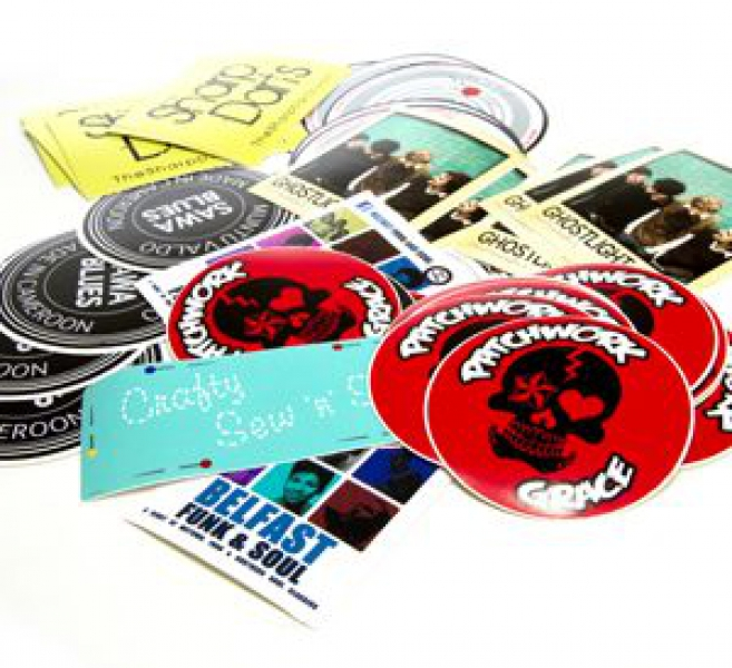 Indoor stickers